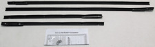 1963-'64 CHEVY IMPALA 2 DOOR HARDTOP BELTLINE OUTER WEATHERSTRIPPING KIT (4 PCS)
