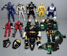 power rangers lot de figurine mighty morphin SPD ... Megazord bandai
