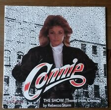 """Rebecca Storm - The Show (Theme From Connie) - 7"""" Vinyl Single 1985"""
