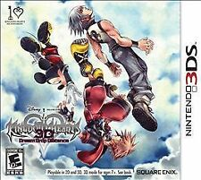 KINGDOM HEARTS 3D: DREAM DROP DISTANCE  (3DS, 2012) (2011)     FREE SHIPPING USA