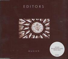 EDITORS Munich 2 TRACK CD NEW - NOT SEALED