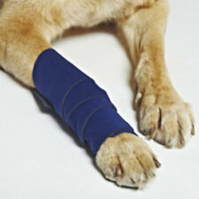 Bowserwear Healers Wraps Dog Leg Injury Bandage with Gauze Inserts Small 18""