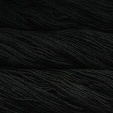 Malabrigo Merino Worsted Aran Yarn / Wool 100g - Black (195)
