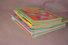 Lot Of 25  Whitman Golden Book NEW Paper Doll Sticker Stamps Cut Out