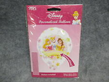 """Disney Princess Personalized Personalize 18"""" Foil Happy Brithday Balloon NEW"""
