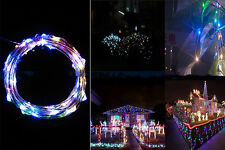 2M 20 LED Multi-colour String Fairy Lights Indoor/Outdoor Xmas Christmas Party