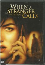 WHEN A STRANGER CALLS (2006) DVD BRAND NEW SEALED