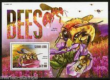 Sierra Leone 2015 Bees Souvenir Sheet Mint Nh