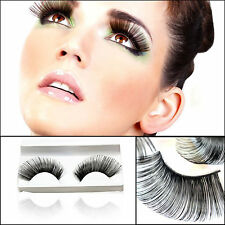 New Handmade Long Thick Fancy Party False Feather Eyelashes Makeup Eye Lash