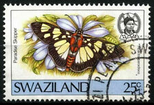 Swaziland 1987 SG#519, 25c Butterfly Definitive Used #D40277