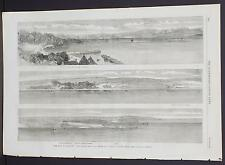 Illustrated London News Single-Page A3#4 Aug. 1864 The Belt and Shore of Jutland