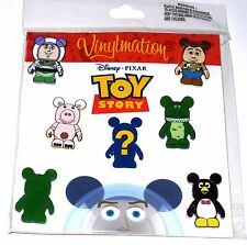 Disney Booster 7 Pin SET✿Toy Story Buzz Woody Army Man Penguin + Mystery Chaser