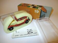 Alfa Romeo 6c 1750 (1932) beige / orange, Rio in 1:43 boxed!