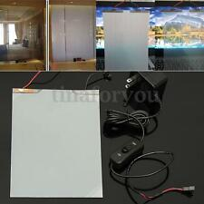 148x210mm A5 Size Translucent White Smart PDLC Switchable Glass Film With Cable