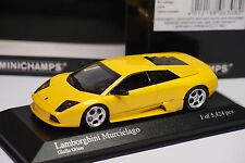 MINICHAMPS MURCIELAGO 2004 YELLOW METALLIC 1/43