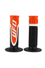 NEW UFO Motocross Enduro Axiom Grips - Orange