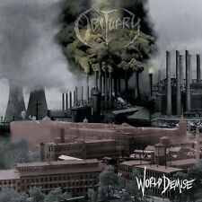 "OBITUARY ""WORLD DEMISE (RE-ISSUE)"" CD NEW+"