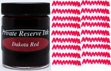 PRIVATE RESERVE - Fountain Pen Ink Bottle - DAKOTA RED -  66ml - New