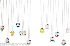 AVON HELLO KITTY SILVER PLATED ZODIAC NECKLACE: LEO (New/Boxed)