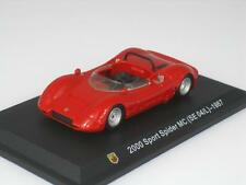 FIAT ABARTH 2000 SPORT SPIDER MC (SE04/L) 1967 1:43 AH27 STARLINE RED NEW MODEL