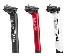 DEDA RSX 01 SEATPOST SEATPILLAR   BLACK 31.6mm 350mm