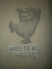 WHERE WILD THINGS ARE IRA T SHIRT Beast Monster Maurice Sendak Book Art XL/2XL