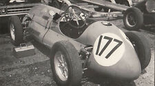 SINGLE SEATER RACING CAR No.177, RACING PHOTOGRAPH.