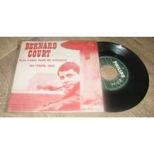 BERNARD COURT - Plus D'Amis Pour Me Consoler Rare PS Jukebox Sixties