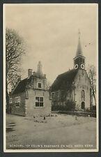 Schoorl  16e eeuws Raadhuis en Ned. Herv. Kerk