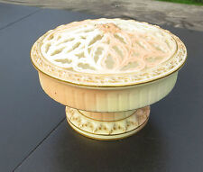 Locke & Co Worcester Blush Ivory Pot Pourri (Potpourri) with Reticulated Lid