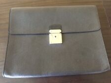AUTHENTIC LOUIS VUITTON bag Portfolio Taiga leather