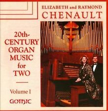 C 20th Century Organ Music for Two 1 CD