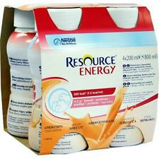 Resource Energy albicocca 4x200 ML