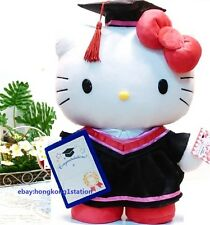 Sanrio Hello Kitty Cat Graduation Grad Plush Doll Congratulation Gift Toy 13.5""