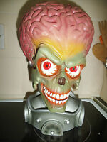 MARS ATTACKS 1/3 SCALE.PAINTED RESIN BUST 11.1/2.inches/6.1/2.inches.last one.