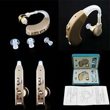A Pair of Digital Hearing Aid Kit SKMY Behind the Ear BTE Sound Voice Amplifier