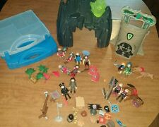 Geobra PLAYMOBIL Figures & Accessories Mixed LOT Toys WEAPONS KNIGHTS Chest Case