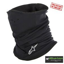 Alpinestars Fleece Tech Neck Warmer Black motorcycle cycling neck tube