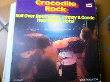 "LP 12"" CROCODILE ROCK THE HILTONAIRES THE AIR MAIL VOCAL PRODUCTION ITALY  EX+"