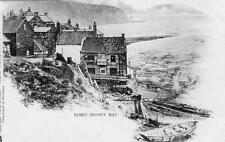 Robin Hood's Bay early undivided back unused old pc Raphael Tuck Ref B672