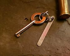 Primary Carry Western Handcuff Key & Shim For EDC,  SERE,  Military,  Police