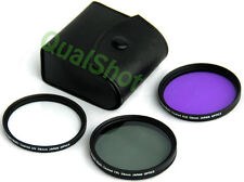 58mm Lens Filter Kit for Olympus EVOLT E-300 E-330 E500