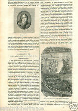 France Mine de Charbon Minerai de Fer Ore Coal Mine Iron GRAVURE OLD PRINT 1848