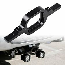 Tow Hitch Mounting Bracket Off-Road Dual LED #M Truck SUV Trailer Reverse Lamp