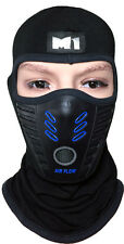 M1 Full Face Cover Balaclava Protective Filter Mask Hood Head Support Biker Warm