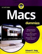 Macs for Dummies by Edward C. Baig (2016, Paperback)