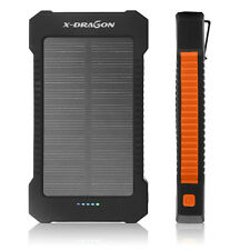 20000mAh Solar Juice Charger External Battery Power Bank for Cell Phone iPhone