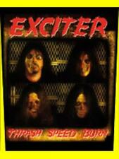 EXCITER Thrash Speed Burn Sew-on back patch 601591 #