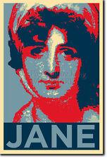 Jane Austen PHOTO PRINT POSTER CADEAU (OBAMA HOPE INSPIRÉ) orgueil et préjugés