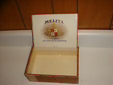 Melita Cigar Box, Florida Made VERY NICE!!!! Older Box Garcia y Vega, Flor Fina